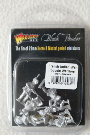Warlord Games 28mm WG7-FIW-59 Iroquois Warriors
